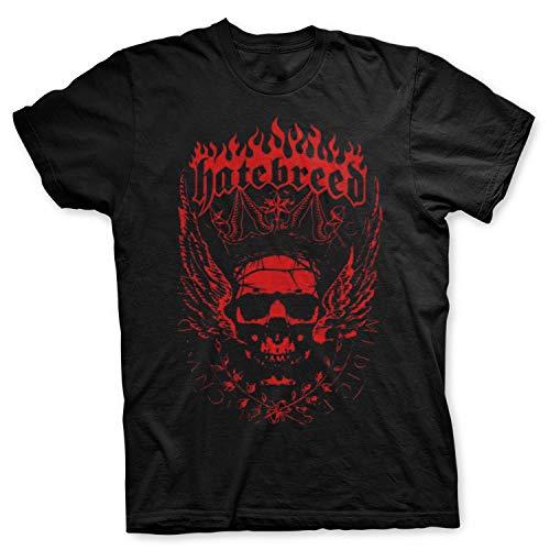 Hatebreeed Officially Licensed - Crown Skull T-Shirt Trikot T Shirt (Medium)