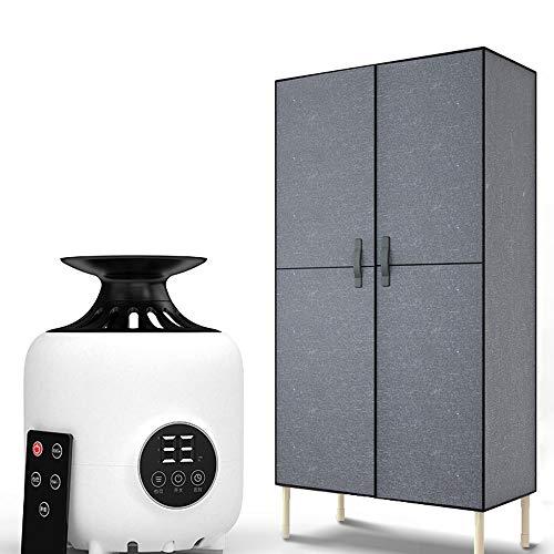 ZJIAN elektrischer Wäschetrockner,wäschetrockner kondenstrockner,ablufttrockner,Edelstahl,große Kapazität,Geeignet für alle Stoffe