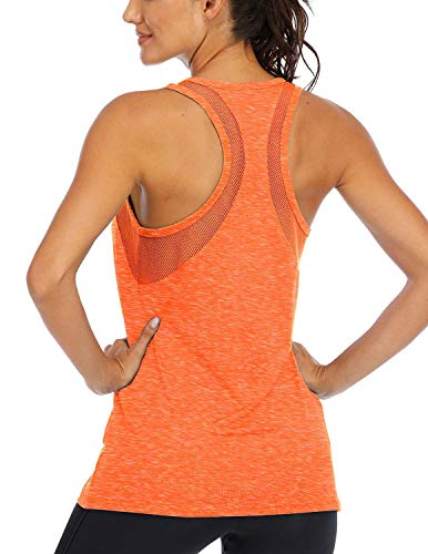 ICTIVE Workout Tank Tops for Women Loose fit Yoga Tops for Women Mesh Racerback Tank Tops...