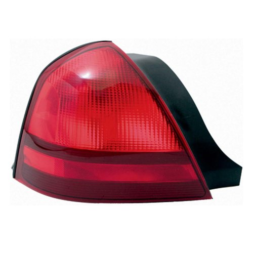 TYC 11-6090-01 Mercury Grand Marquis Driver Side Replacement Tail Light Assembly