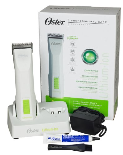 Oster Volt Cordless Pet Clippers with Detachable Lithium-Ion Battery...