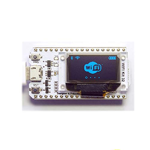 TopHomer WIFI Kit 32 ESP32 WIFI Wireless with 0.96 inch OLED Display CP2102 Development Board for Arduino Nodemcu