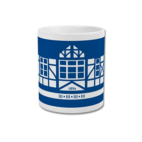 Portsmouth FC Graphic Design Football Gift - Print or Mug - Fratton Park'Pompey Pavilion' Ground Designs (Mug)