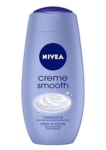 Nivea Creme Smooth Duschgel, 2er Pack (2 x 250 ml)