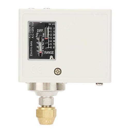 SPC-106E 24-380V presostato de compresor, Interruptor de presión para control de límite de presión alta y baja para equipos de aire de refrigeración o automatización