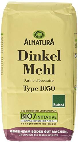 Alnatura Bio Dinkelmehl Type 1050, 6er Pack (6 x 1 kg)