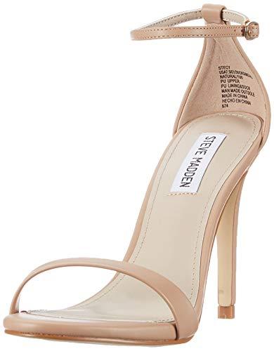 Steve Madden Stecy Heeled Sandal, Sandalia con Pulsera para Mujer