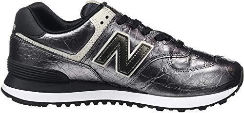 New Balance Damen 574v2 Sneaker, Schwarz (Black Black), 40 EU