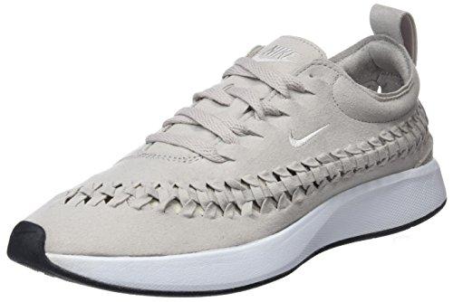 Nike W Dualtone Racer Woven Zapatillas de Gimnasia Mujer, Beige (Moon Particle/Moon Particle/Mod 201), 35 1/2 EU (2.5 UK)