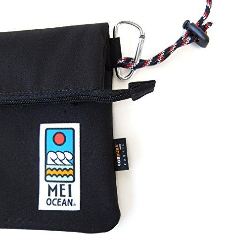 (メイオーシャン)MEIOCEANサコッシュCORDURA軽量メンズレディースブラックR113-91
