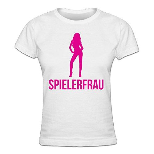 Shirtcity Spielerfrau Frauen T-Shirt by