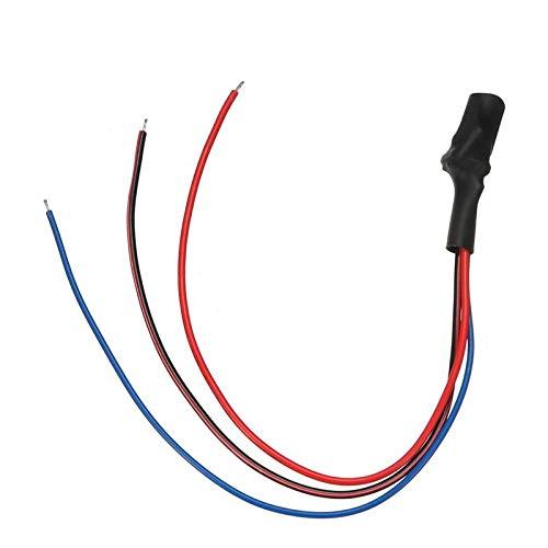 Signalfilter Rückfahrkamera Filter, 12 V DC Power Relais Kondensator Filter Anschluss für Nachrüst-Rückfahrkameras an getaktete Rückfahrleuchten/Canbus Gleichrichter Auto Kamera Filter
