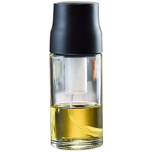 Gesh Aceite de Oliva Pulverizador de Vidrio a prueba de fugas Dispensador de Aceite de Vinagre de Salsa de Soja Botella de Cocina, Ensalada Barbacoa Herramientas de Cocina