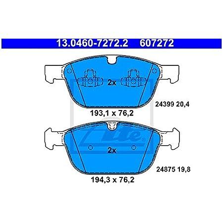 Ate 13 0460 7272 2 Bremsbelagsatz Scheibenbremse Auto