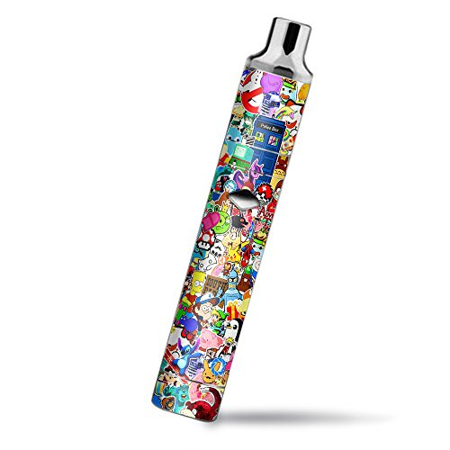 Skin Decal Vinyl Wrap for Yocan Magneto Pen Vape Mod Stickers Skins Cover/Sticker Collage,Sticker Pack