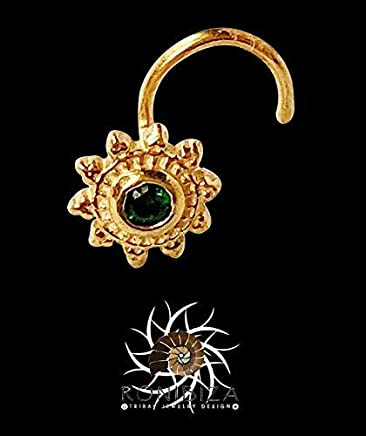 Tiny Nose Stud Nose Piercing Nose Jewelry Nostril Indian Nose Stud NG43 Tribal Nose Stud Gold Nose Stud Small Nose Stud
