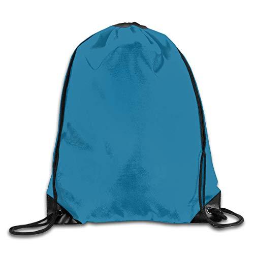 Bolsas de cuerdas Mochila de Cuerdas Colores de pintura azul Behr para Picnic Gym Sport Beach Yoga Gym Sack Mochilas Cordón 36X43CM
