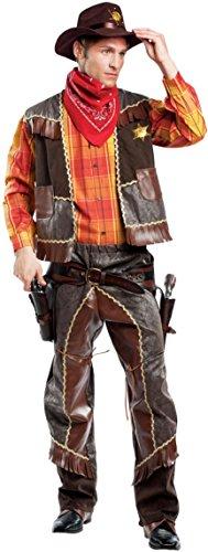 chiber Disfraces Disfraz de Cowboy (M - Mediana)