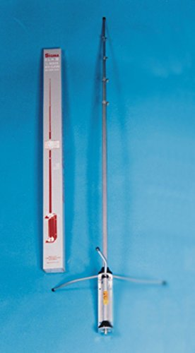 Sigma Venom 1/2 Wave High Gain Silver Rod CB Base Station Antenna