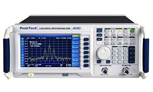 3 GHz Spectrum Analyzer ~ mit TFT-Anzeige, Tracking Generator und LAN/USB