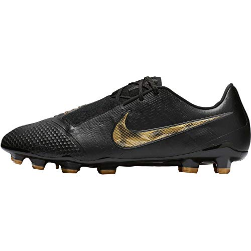 Nike Mens Phantom Venom Elite FG Soccer Cleats (Black/Vivid Gold, 10.5 M US)