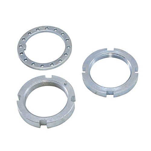 Yukon Gear & Axle (AK D44-NUTS-CJ) Replacement Spindle Nut & Washer Kit for Dana 30/Dana 44