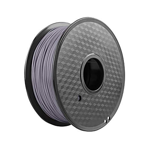PLA-Filament 1,75 Mm 1 Kg, PLA 3D-Filamentmaterial Für 3D-Drucker Und 3D-Stifte, Dunkelgraues PLA, 1 Spulendruckmaterial