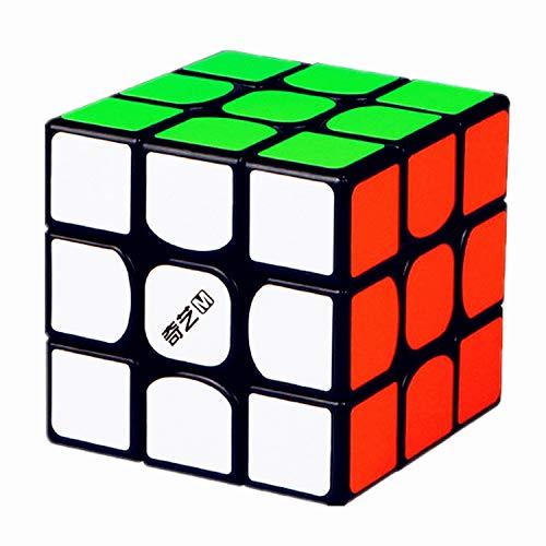 LiangCuber QiYi MS 3x3 Magnetic Speed Cube Black Qiyi MS Series Puzzle 3x3x3 Cubes Magic