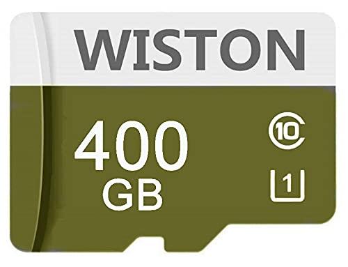 Tarjeta de memoria SDXC de 400 GB, clase 10, con adaptador SD C10, tarjeta micro SD, tarjeta TF para Android, Smartphone, Nintendo Switch, Tablet, Drone Digtal Camera (400 GB)
