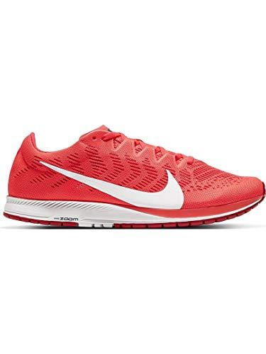 Nike Air Zoom Streak 7, Zapatillas para Correr Unisex Adulto, Laser Crimson White University Red, 43 EU