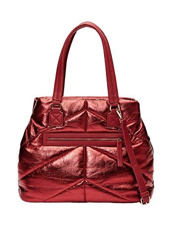 s.Oliver RED LABEL Damen Gesteppter Shopper red 1