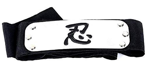 Naruto hoofdband - voorhoofd - hoofd - alliantie - ninja - vermomming - carnaval - halloween - anime - manga - origineel idee voor een verjaardagscadeau cosplay