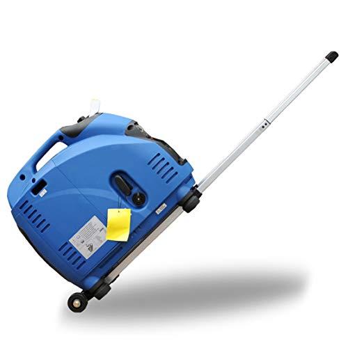 HIOD Mini Grupo Electrógeno 3000w, 100% Onda Sinusoidal Emergencia Inversor Todo Bronce Tranquilo 220v Generador de Gasolina,with-Pull-Rod