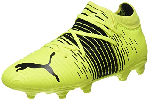 Puma Future Z 3.1 FG/AG JR, Scarpe da Football, Yellow Alert Black White, 34 EU
