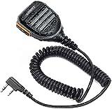 ABBREE AR-780 Two Way Radio Rainproof Handheld Speaker Mic Microphone(Upgrade of BF-S112), Remote Shoulder Mic for Baofeng UV-5R BF-F8HP UV-5RX3 UV-5R+,UV-5X3,BF-888S UV-9S UV-5RTP Ham Radio