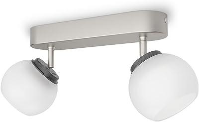 Philips 533221716 Balla Luminaire d'Intérieur Spot LED Métal Chrome 4 W