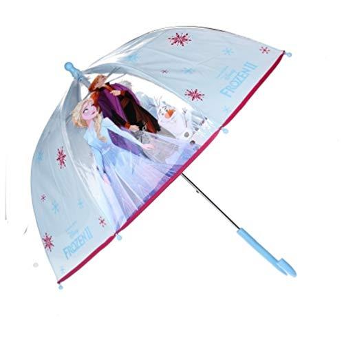 Disney Frozen 2 - Die Eiskönigin Anna ELSA Regenschirm Kuppelschirm Stock-Schirm