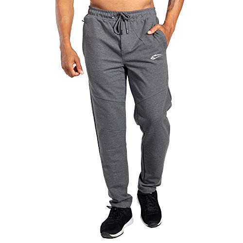 SMILODOX Jogginghose Relaxed   Trainingshose für Sport Fitness Gym Training & Freizeit   Sporthose - Jogger Pants - Sweatpants Hosen - Freizeithose Lang, Größe:S, Farbe:Anthrazit