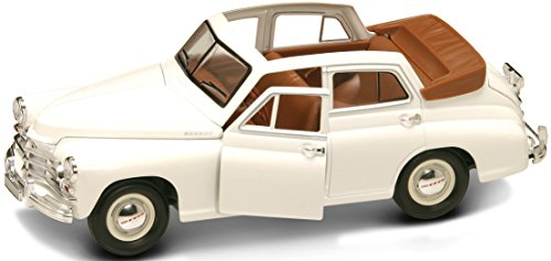 Lucky Die Cast 24215WH - GAZ M20 Pobeda Landaulette, Fahrzeug, weiß