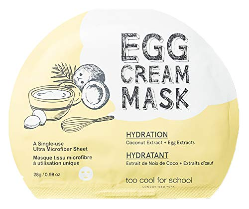 Too Cool for School Ei Creme Feuchtigkeits Maske, 28 ml