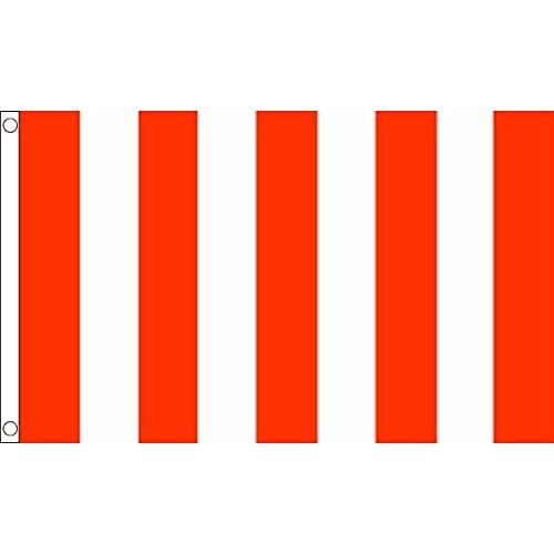 AZ FLAG Flagge Streifen ROT UND Weiss 150x90cm - GESTREIFTES Fahne 90 x 150 cm - flaggen Top Qualität