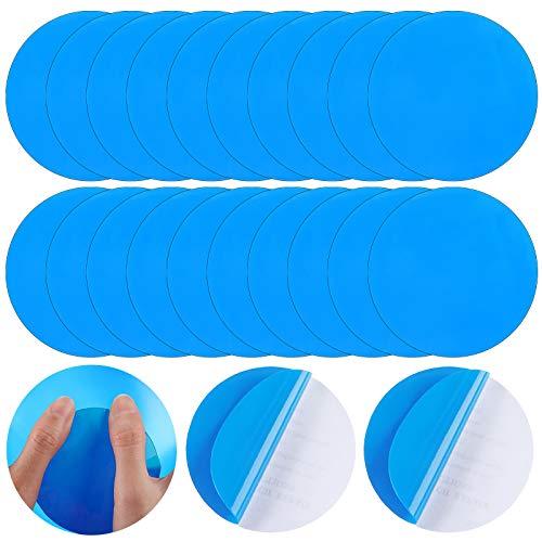 Round Self-Adhesive PVC Repair Patches, Vinyl Pool Liner Patch Boat Repair...