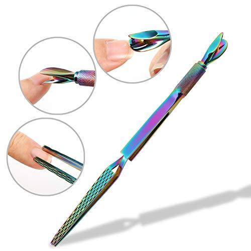 Nagelpinzette für perfekte Nägel in C-Form, Mwoot Nail Art multi-functions Nagel Pincher Pinzette Werkzeug, Nail Pinching Tool