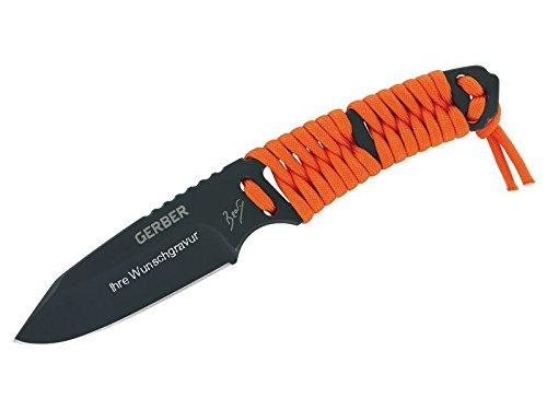 Unbekannt Gerber Bear Grylls - Paracord Fixed Blade con Grabado Personalizado