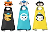 3 Sets Octonauts Cosplay Dress Up Costumes Capes &...