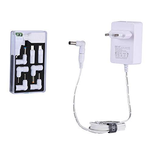 DEYF - Cargador universal de 5 V y 3 A, 15 W CA, para USB Hub, LED Pixel, Kindle Fire Tablet, portátil, controlador de DJ Upgraded-white