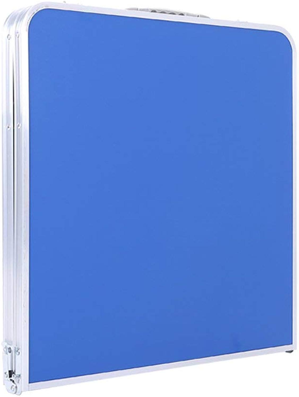 promocionales de incentivo Wghz Mesa Plegable para Exteriores, Mesa de Picnic Picnic Picnic portátil, Altura Ajustable, Mesa Pequeña portátil  4 taburetes pequeños (Color  Azul)  la calidad primero los consumidores primero