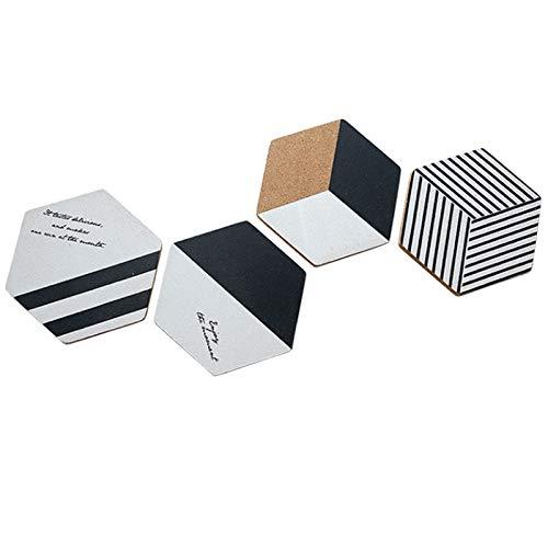 Yuanjiashop Sottobicchieri per Bevande Nordic Creative Coaster Tovaglietta Isolante antiscottatura Pad Ciotola Sottobicchiere Western Mat Protezione dei Mobili