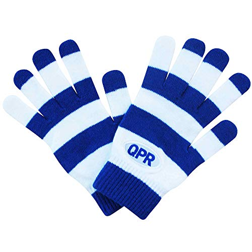Gants en Tricot Officiel Queens Park Rangers QPR (100% Acrylique)