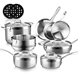whole clad induction cookware set